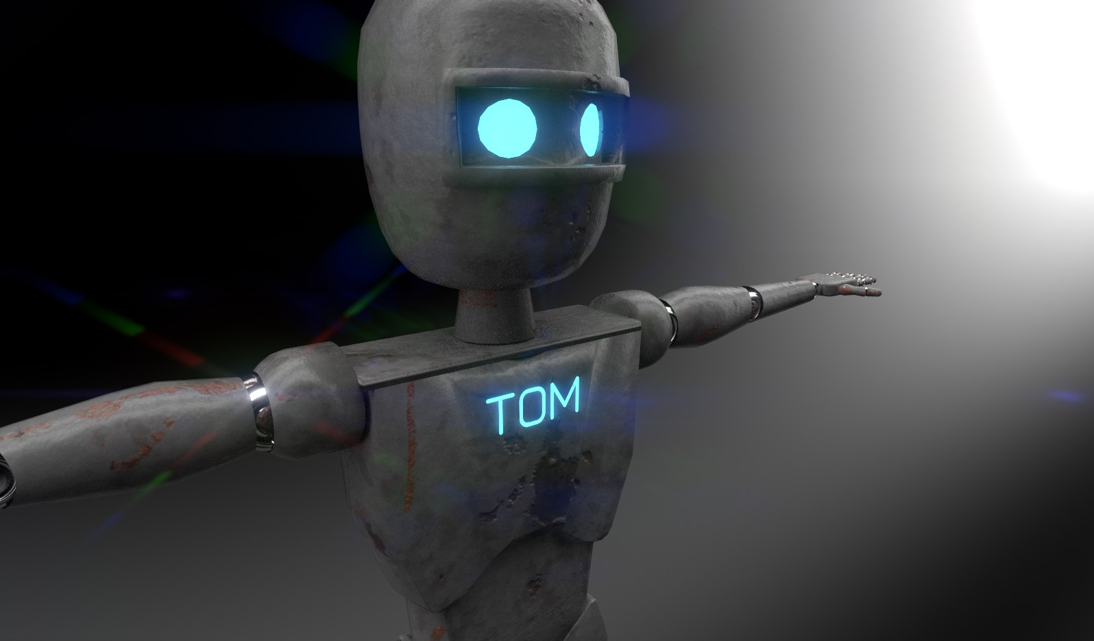 Robot Tom Render 2