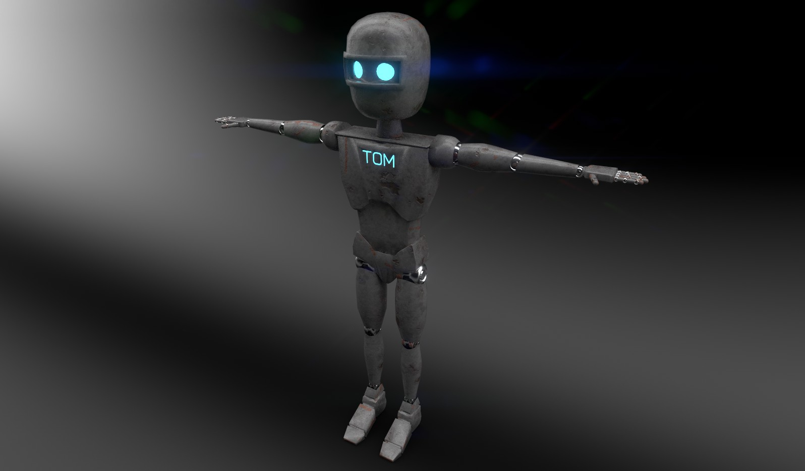 Robot Tom Render 1