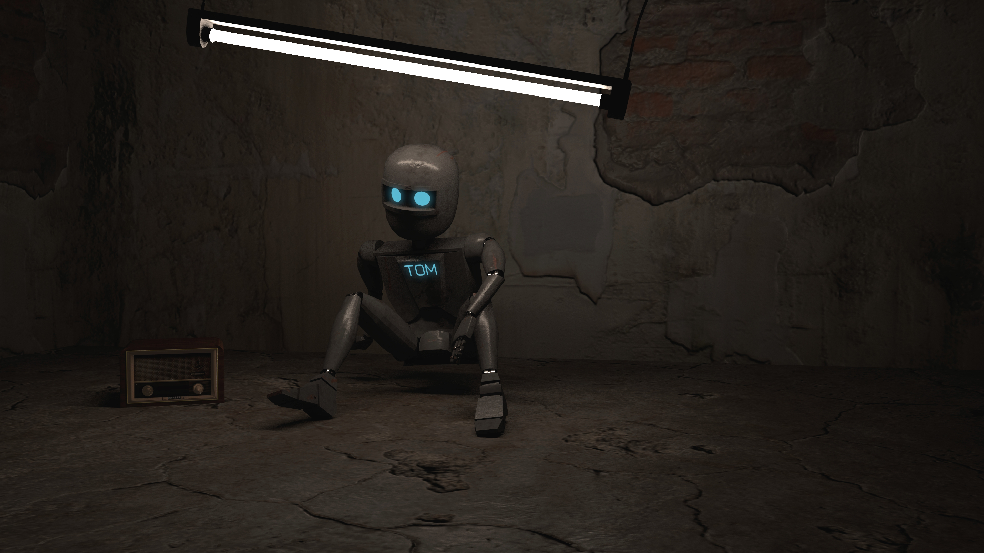 Robot Tom Final Render